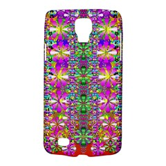 Flower Wall With Wonderful Colors And Bloom Galaxy S4 Active