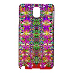 Flower Wall With Wonderful Colors And Bloom Samsung Galaxy Note 3 N9005 Hardshell Case