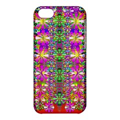 Flower Wall With Wonderful Colors And Bloom Apple Iphone 5c Hardshell Case