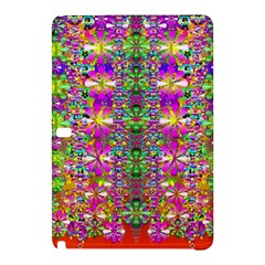 Flower Wall With Wonderful Colors And Bloom Samsung Galaxy Tab Pro 12 2 Hardshell Case