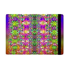 Flower Wall With Wonderful Colors And Bloom Ipad Mini 2 Flip Cases