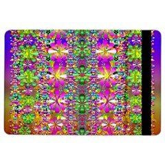 Flower Wall With Wonderful Colors And Bloom Ipad Air 2 Flip
