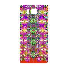Flower Wall With Wonderful Colors And Bloom Samsung Galaxy Alpha Hardshell Back Case