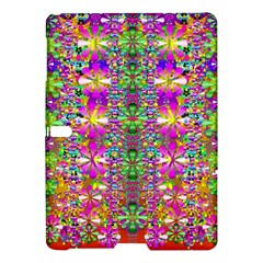 Flower Wall With Wonderful Colors And Bloom Samsung Galaxy Tab S (10 5 ) Hardshell Case