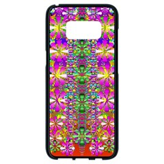 Flower Wall With Wonderful Colors And Bloom Samsung Galaxy S8 Black Seamless Case
