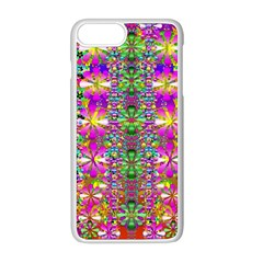Flower Wall With Wonderful Colors And Bloom Apple Iphone 8 Plus Seamless Case (white)