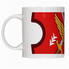 Seal Of The Imperial Iranian Army Aviation  White Mugs