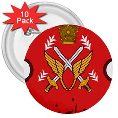 Seal Of The Imperial Iranian Army Aviation  3  Buttons (10 Pack)
