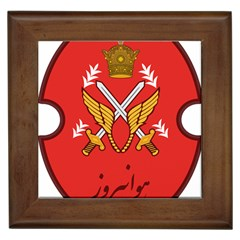 Seal Of The Imperial Iranian Army Aviation  Framed Tiles