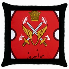 Seal Of The Imperial Iranian Army Aviation  Throw Pillow Case (black)