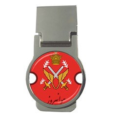 Seal Of The Imperial Iranian Army Aviation  Money Clips (round)