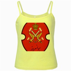 Seal Of The Imperial Iranian Army Aviation  Yellow Spaghetti Tank