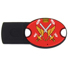 Seal Of The Imperial Iranian Army Aviation  Usb Flash Drive Oval (2 Gb)