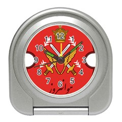 Seal Of The Imperial Iranian Army Aviation  Travel Alarm Clocks