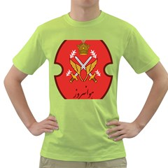 Seal Of The Imperial Iranian Army Aviation  Green T Shirt
