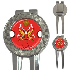 Seal Of The Imperial Iranian Army Aviation  3 In 1 Golf Divots