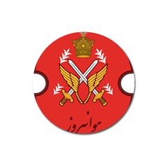 Seal Of The Imperial Iranian Army Aviation  Magnet 3  (round)