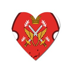 Seal Of The Imperial Iranian Army Aviation  Heart Magnet