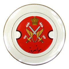 Seal Of The Imperial Iranian Army Aviation  Porcelain Plates