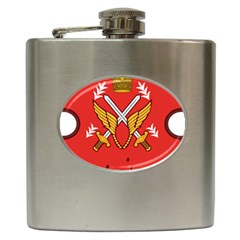 Seal Of The Imperial Iranian Army Aviation  Hip Flask (6 Oz)