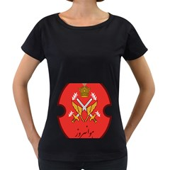 Seal Of The Imperial Iranian Army Aviation  Women s Loose Fit T Shirt (black)