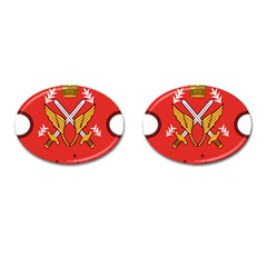 Seal Of The Imperial Iranian Army Aviation  Cufflinks (oval)