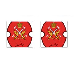 Seal Of The Imperial Iranian Army Aviation  Cufflinks (square)