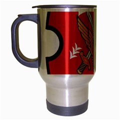 Seal Of The Imperial Iranian Army Aviation  Travel Mug (silver Gray)