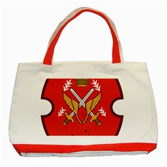 Seal Of The Imperial Iranian Army Aviation  Classic Tote Bag (red)