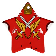 Seal Of The Imperial Iranian Army Aviation  Star Ornament (two Sides)