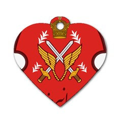 Seal Of The Imperial Iranian Army Aviation  Dog Tag Heart (one Side)