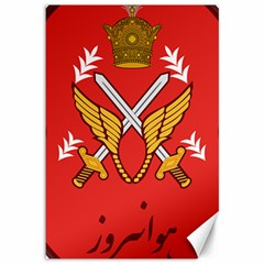Seal Of The Imperial Iranian Army Aviation  Canvas 12  X 18