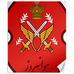 Seal Of The Imperial Iranian Army Aviation  Canvas 16  X 20