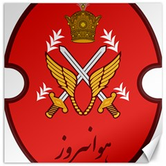 Seal Of The Imperial Iranian Army Aviation  Canvas 20  X 20