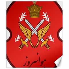 Seal Of The Imperial Iranian Army Aviation  Canvas 20  X 24
