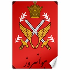 Seal Of The Imperial Iranian Army Aviation  Canvas 24  X 36