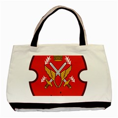 Seal Of The Imperial Iranian Army Aviation  Basic Tote Bag (two Sides)