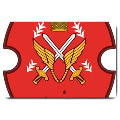 Seal Of The Imperial Iranian Army Aviation  Large Doormat