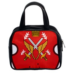 Seal Of The Imperial Iranian Army Aviation  Classic Handbags (2 Sides)