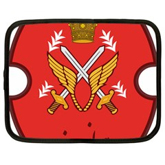 Seal Of The Imperial Iranian Army Aviation  Netbook Case (large)