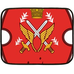 Seal Of The Imperial Iranian Army Aviation  Fleece Blanket (mini)