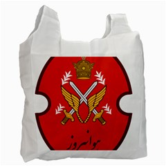 Seal Of The Imperial Iranian Army Aviation  Recycle Bag (one Side)