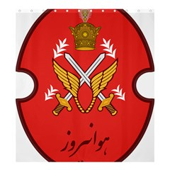 Seal Of The Imperial Iranian Army Aviation  Shower Curtain 66  X 72  (large)