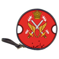 Seal Of The Imperial Iranian Army Aviation  Classic 20 Cd Wallets