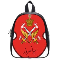 Seal Of The Imperial Iranian Army Aviation  School Bag (small)