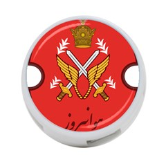 Seal Of The Imperial Iranian Army Aviation  4 Port Usb Hub (one Side)