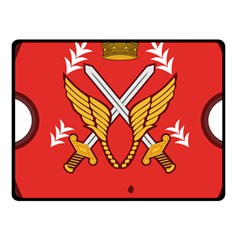 Seal Of The Imperial Iranian Army Aviation  Fleece Blanket (small)