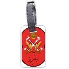 Seal Of The Imperial Iranian Army Aviation  Luggage Tags (two Sides)