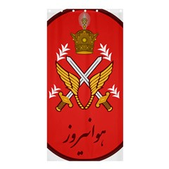 Seal Of The Imperial Iranian Army Aviation  Shower Curtain 36  X 72  (stall)