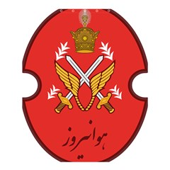 Seal Of The Imperial Iranian Army Aviation  Shower Curtain 60  X 72  (medium)